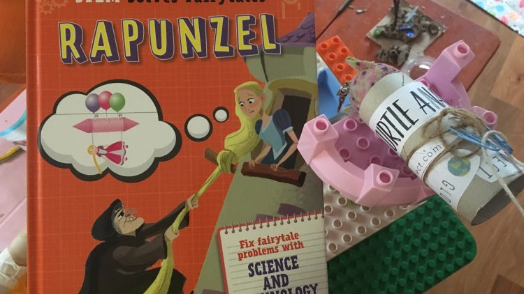 STEM solves Fairy tales: Rapunzel by Jasmine Brooke.